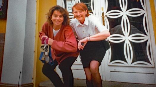 Emese Hunyady und Anni Gräff